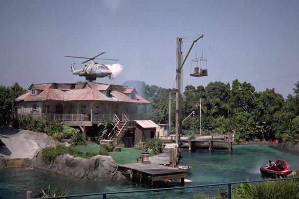 Miami Vice Stunt Show