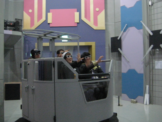 Subway Darkrider Ride System